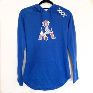 NFL Patriots Hooded Long Sleeve top Small